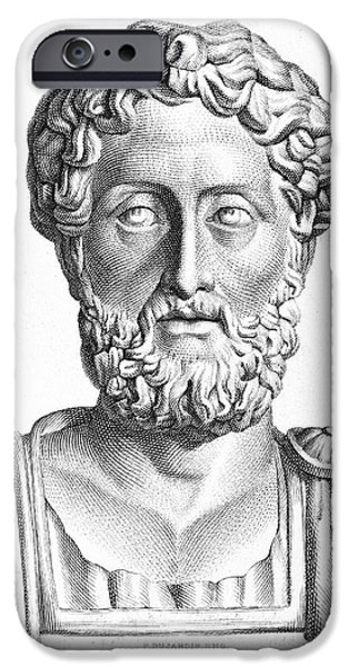 LUCIUS COMMODUS (161-192 A.D.) iPhone Case by Granger