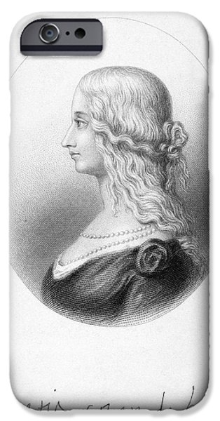 Duchess iPhone Cases - Lucrezia Borgia (1480-1519) iPhone Case by Granger