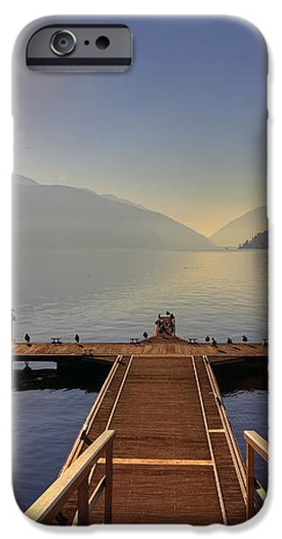 Lugano iPhone Case by Joana Kruse