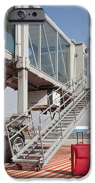 Luggage at a Gate Bridge iPhone Case by Jaak Nilson
