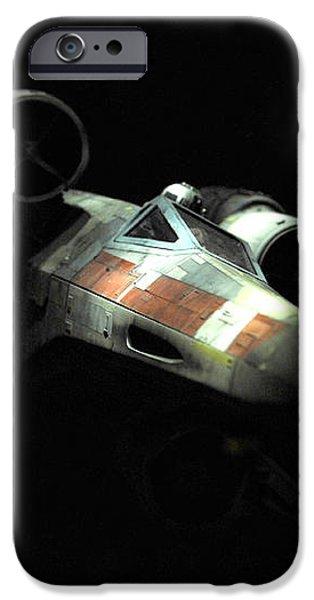 Luke's original X-Wing iPhone Case by Micah May