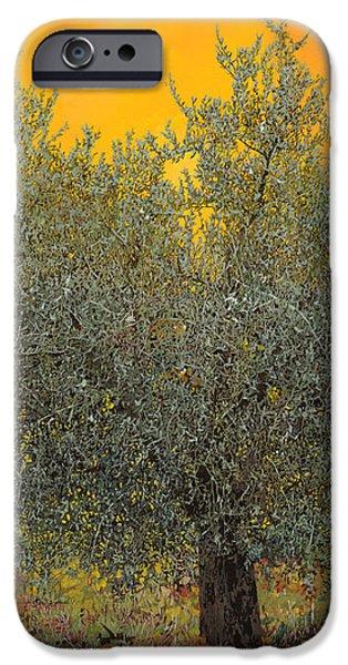l'ulivo tra le vigne iPhone Case by Guido Borelli
