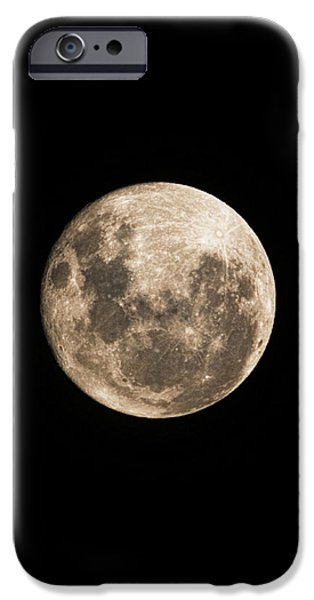 Lunar Perigee iPhone Case by Andrew Paranavitana