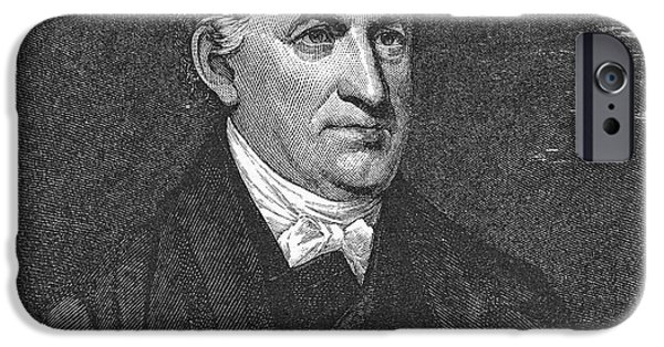 Autographed iPhone Cases - Lyman Beecher (1775-1863) iPhone Case by Granger