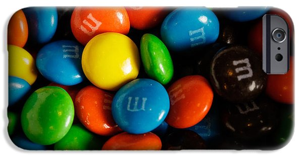 Bite iPhone Cases - M and Ms iPhone Case by Rick Berk