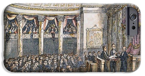 Inauguration iPhone Cases - M. Van Buren (1837) iPhone Case by Granger