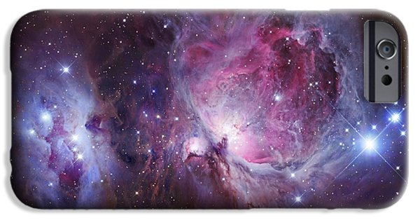 Constellations iPhone Cases - M42, The Orion Nebula Top, And Ngc iPhone Case by Robert Gendler