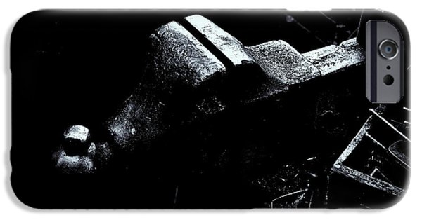 Vise iPhone Cases - Machine Vise iPhone Case by Tom Singleton