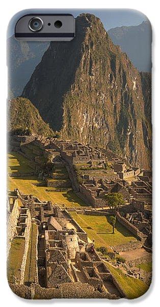 Machu Picchu At Dawn Near Cuzco Peru iPhone Case by Colin Monteath