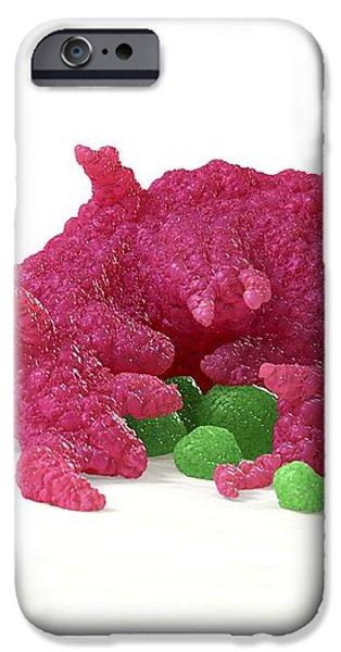 Macrophage Engulfing Pathogens, Artwork iPhone Case by David Mack