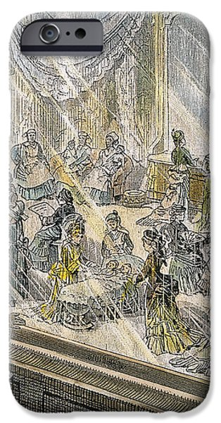 MACYS HOLIDAY DISPLAY, 1876 iPhone Case by Granger