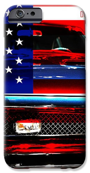 Made In The USA . Pontiac GTO iPhone Case by Wingsdomain Art and Photography