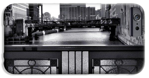 Ely Arsha iPhone Cases - Madison Street Bridge - 3 iPhone Case by Ely Arsha