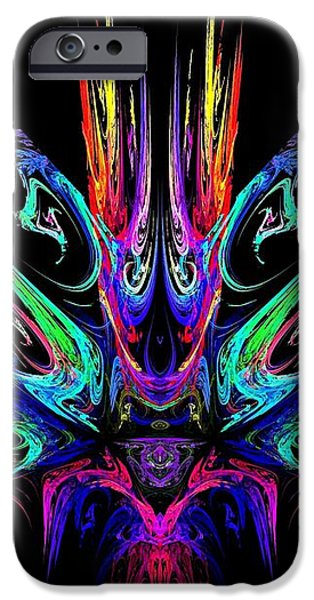 Magic Fire iPhone Case by Klara Acel