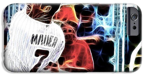 Minnesota Twins Mixed Media iPhone Cases - Magical Joe Mauer iPhone Case by Paul Van Scott