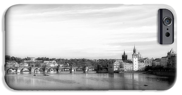 City Scape iPhone Cases - Magical Prague iPhone Case by Ivy Ho