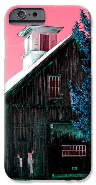 Maine Barn iPhone Case by Marie Jamieson