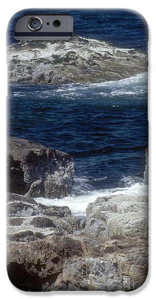 Maine Coast Surf iPhone Case by Darleen Stry