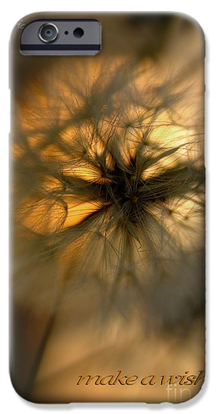 Anticipation Photographs iPhone Cases - Make A Wish iPhone Case by Vicki Ferrari