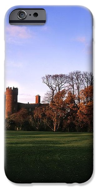 Malahide Castle, Co Fingal, Ireland iPhone Case by The Irish Image Collection