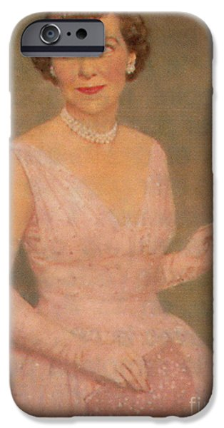 First Lady iPhone Cases - Mamie Eisenhower iPhone Case by Photo Researchers