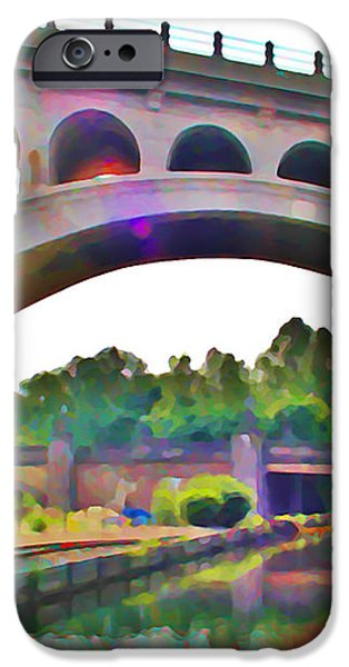 Manayunk Canal iPhone Case by Bill Cannon