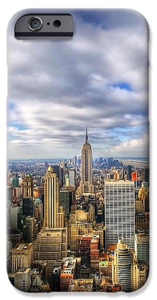 Manhattan05 iPhone Case by Svetlana Sewell