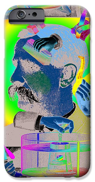 Symbolism Of The Hand iPhone Cases - Manipulation iPhone Case by Eric Edelman
