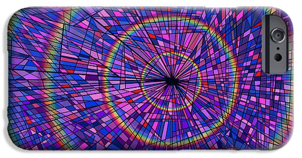 Virtual iPhone Cases - Many Rainbows iPhone Case by Douglas Christian Larsen