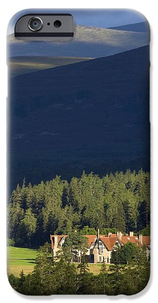 Building iPhone Cases - Mar Lodge Estate, Scotland, Uk iPhone Case by Duncan Shaw