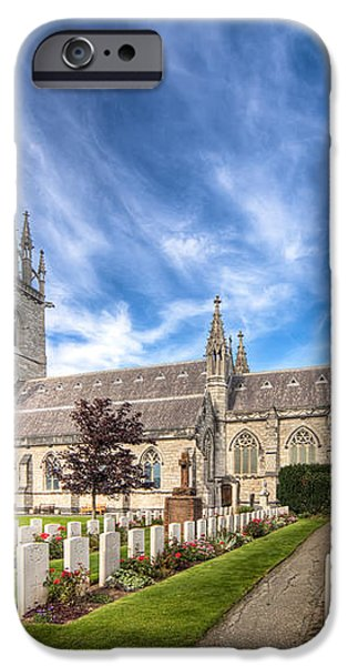 Marble Church iPhone Case by Adrian Evans