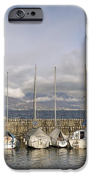 Marina Cannobio iPhone Case by Joana Kruse