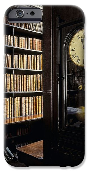 Recently Sold -  - Furniture iPhone Cases - Marshs Library, Dublin City, Ireland iPhone Case by The Irish Image Collection