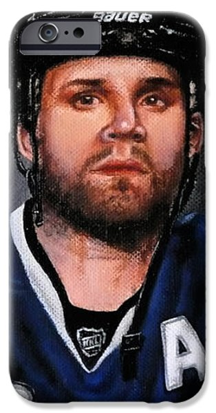 Marty St. Louis iPhone Case by Marlon Huynh