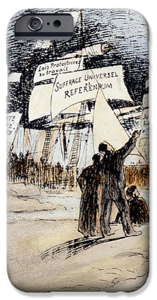 MARXISM, c1891 iPhone Case by Granger