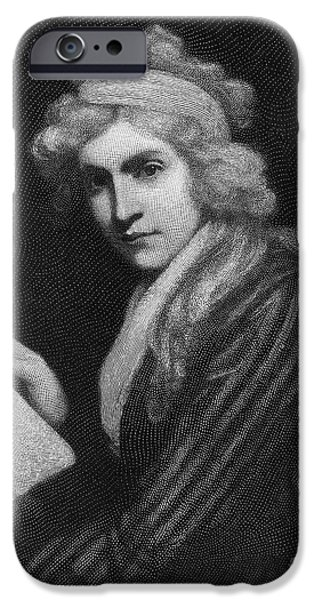 Opie iPhone Cases - Mary Godwin (1759-1797) iPhone Case by Granger