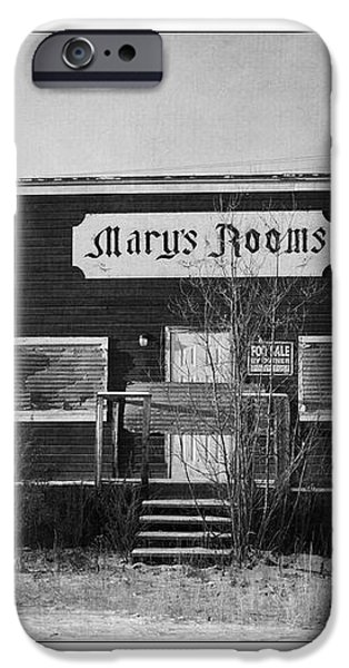 Mary's Rooms iPhone Case by Priska Wettstein