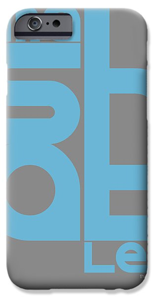 Graphic Design iPhone Cases - Mashable Poster iPhone Case by Naxart Studio