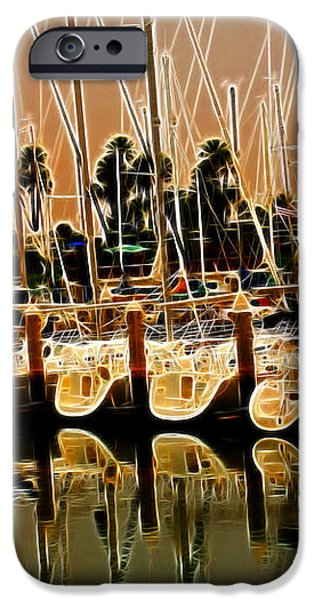 Masts iPhone Case by Cheryl Young