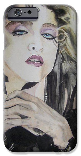 Material Girl iPhone Case by Lance Gebhardt