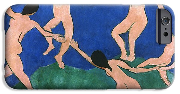 Aod iPhone Cases - Matisse: Dance, 1909 iPhone Case by Granger
