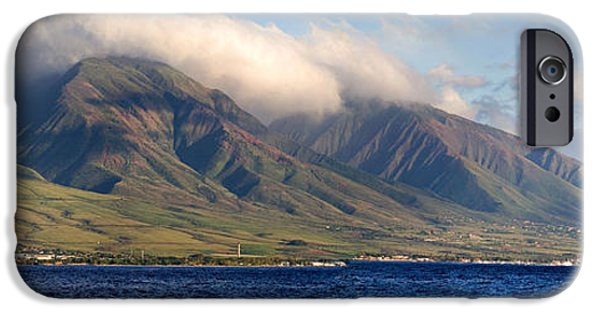 Panoramic Ocean iPhone Cases - Maui Pano iPhone Case by Scott Pellegrin