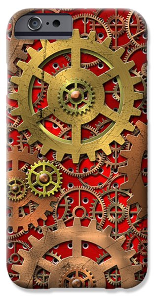 mechanism iPhone Case by Michal Boubin