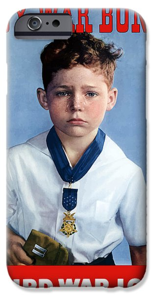 Medal Of Honor Child  iPhone Case by War Is Hell Store