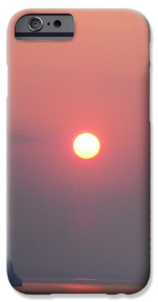 Medaterainian Sunset iPhone Case by Bill Cannon