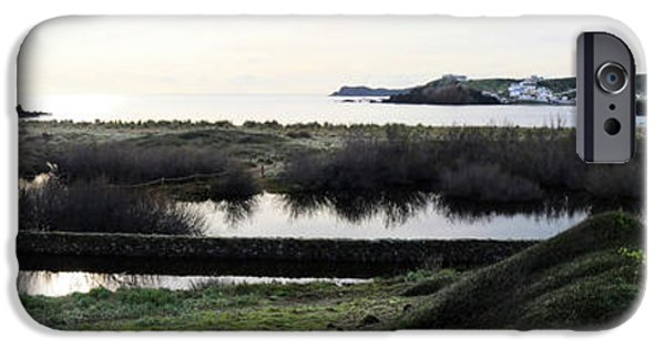 Island Stays iPhone Cases - Mediterranean View iPhone Case by Pedro Cardona