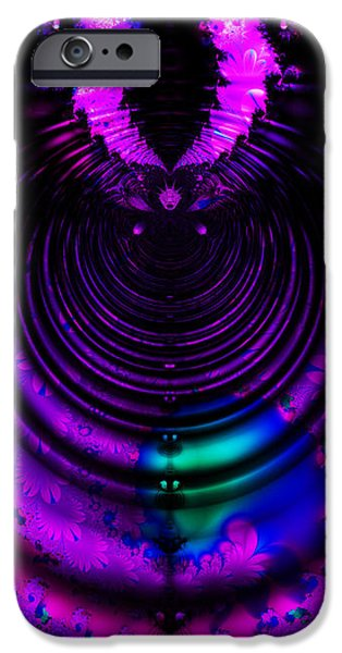 Melting Pot . Horizontal Cut . S8a.S11 iPhone Case by Wingsdomain Art and Photography