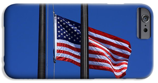Memorial Day Digital Art iPhone Cases - Memorial Day iPhone Case by Lyle Hatch