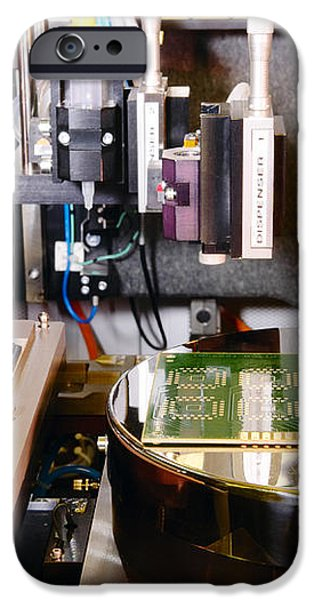 Mems Production, Flip Chip Bonding iPhone Case by Colin Cuthbert