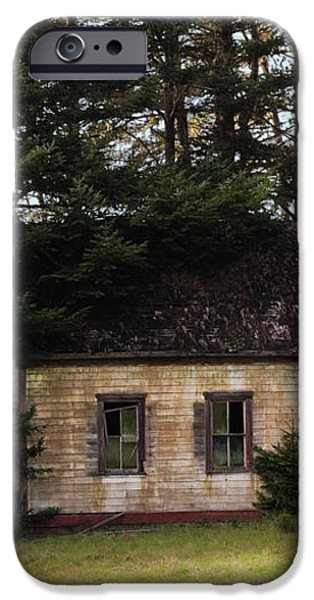 Mendocino Schoolhouse iPhone Case by Grant Groberg